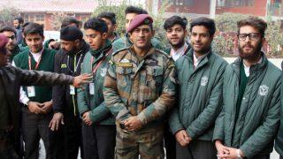 महेंद्र सिंह धोनी ने 'छोड़ा' क्रिकेट, अब सेना में अपनी रेजिमेंट के साथ गुजारेंगे दिन