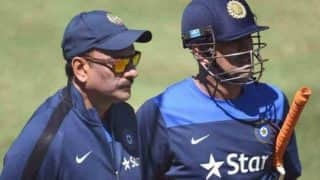 Ravi Shastri Supports MS Dhoni Once Again, Hits Out at Critics