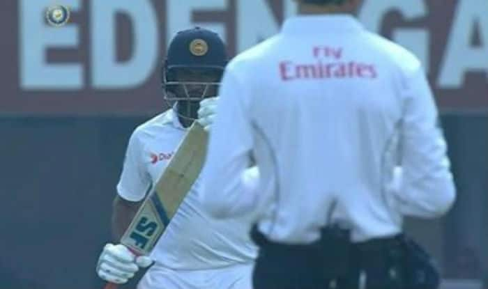 Dilruwan Perera U-turn DRS review