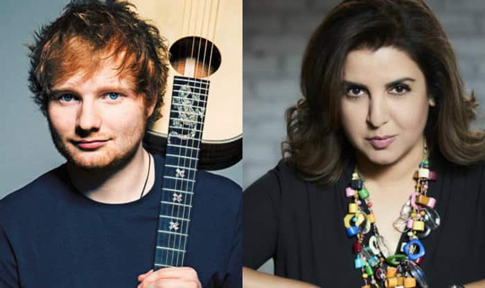 Farah Khan, SRK party with Ed Sheeran