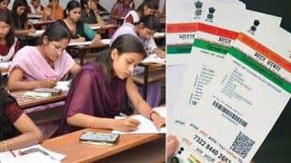 Aadhaar Mandatory For UP Board Exams Along With Admit Card From February 6