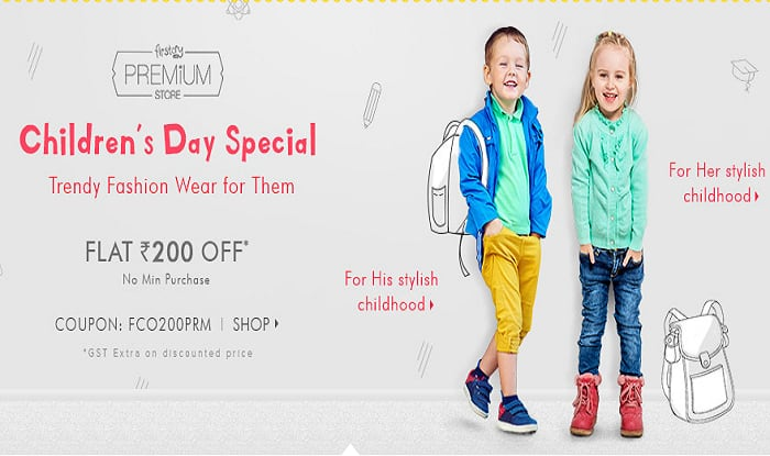 Children S Day Online Sale Amazon India Paytm First Cry Offer