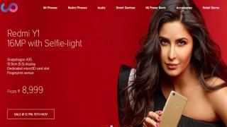 Xiaomi Redmi Y1, Y1 Lite to go on Sale on November 15 at 12 Noon on Amazon India and Mi.com