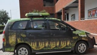 Delhi Air Pollution: How About Plantation on The Rooftop of Your Car?