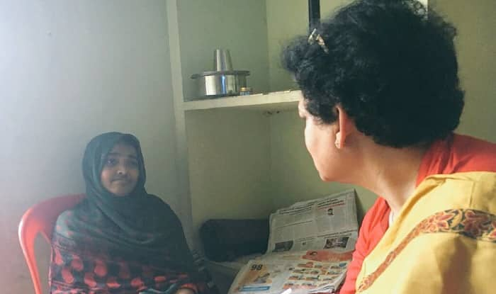 NCW chief Rekha Sharma meets Hadiya (NCWIndia)