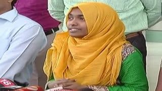 Kerala Love Jihad Case: Happy to Get Back my Freedom, Says Hadiya