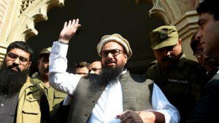 हाफिज सईद का स्वागत करने उमड़े समर्थक, लेकिन रिहाई से पहले फिर हो सकता है गिरफ्तार