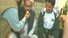 26/11 Mumbai Terror Attack Mastermind Hafiz Saeed Receives Hero's Welcome in Lahore, Warns India in Friday Sermon After Release From House Arrest