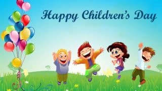 Children's Day 2019 Wishes: बाल दिवस पर भेजें ये WhatsApp Messages, Greetings, GIF