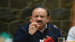 Union Health Minister Harsh Vardhan Refuses to Comment on Rising Death Toll in Bihar's Encephalitis Case | WATCH