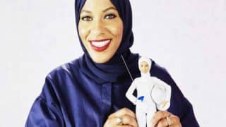 First Hijab-wearing Barbie Inspired By Olympian Ibtihaj Muhammad Launched