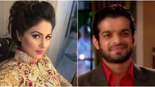 Bigg Boss 11: Karan Patel Is Not Very Fond Of Hina Khan, Here's Proof