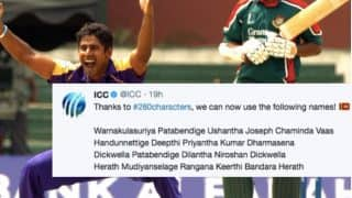 ICC Comes up With Witty Tweet After Twitter Expands Its Character Limit to 280