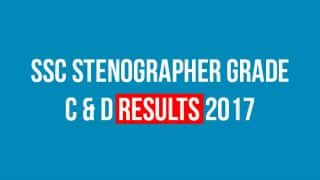 SSC Stenographer Grade C And D Results 2017 Will be Declared on Nov 24 on ssc.nic.in