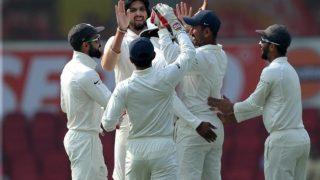 नागपुर टेस्ट: गेंदबाज चमके, भारत ने श्रीलंका को 205 रन पर ढेर किया