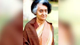 Indira Gandhi's 102nd Birth Anniversay Today, Tributes Paid to Former Prime Minister