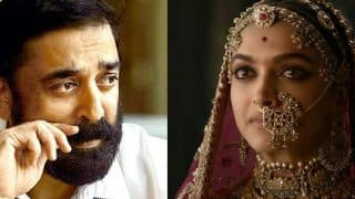 Padmavati Row: After Shah Rukh Khan, Aamir Khan, Now Kamal Hassan Backs Deepika Padukone