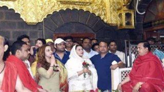 'फिरंगी' की कामयाबी के लिए गर्लफ्रेंड संग शिरडी पहुंचे कपिल शर्मा