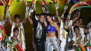 Salman Khan, Katrina Kaif Perform at Indian Super League (ISL) Opening Ceremony in Kochi