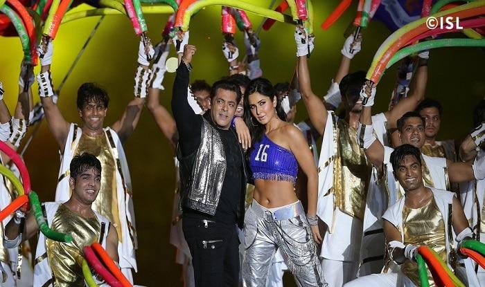 Salman, Iulia and Katrina party at Arpita Khan's residence; see pictures