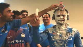 Virat Kohli Celebrates his 29th Birthday, Teammates Smear Cake on The Indian Captain