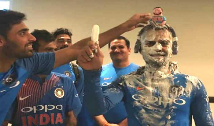 Image result for /happy-birthday-virat-kohli-indian-captain-smeared-with-cake-in-dressing-room-