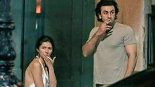 Ranbir Kapoor Meets A Mystery Girl In London Post His Dating Rumors With Mahira Khan?