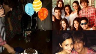 Shah Rukh Khan Birthday Inside Pics: You Just Cannot Miss These Moments Between The Superstar And Katrina Kaif, Deepika Padukone Alia Bhatt And Sidharth Malhotra