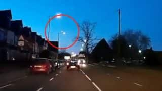 Meteor as Bright as Moon Explodes Over Birmingham (Watch Video)
