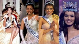Manushi Chhillar Wins Miss World 2017: List of all Indian Beauty Queens Who Have Won the Title