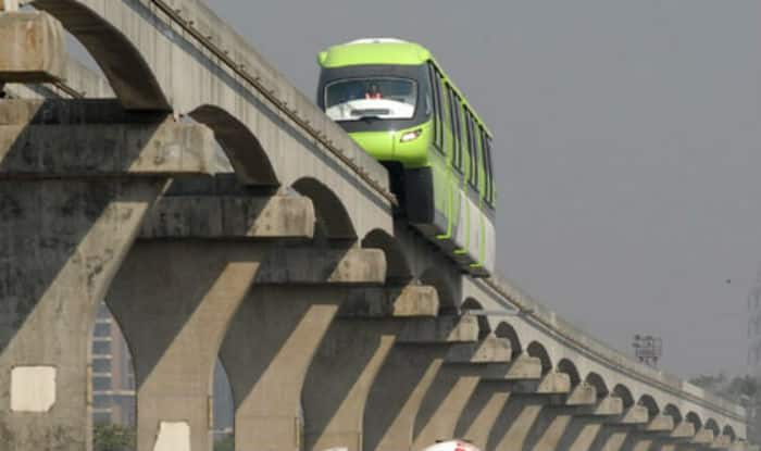 Minor fire in Mumbai Monorail