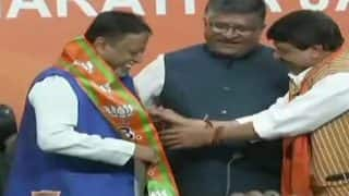 Former Trinamool Congress MP Mukul Roy Joins BJP, Says Proud to Work Under PM Narendra Modi