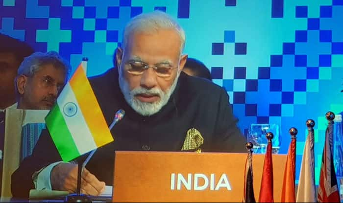 India Summit: Modi calls for efforts to uproot terrorism