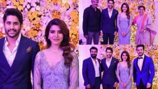 Samantha Ruth Prabhu- Naga Chaitanya's Reception Pictures Will Make You Fall In Love With The Couple All Over Again