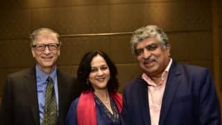 Nandan Nilekani, His Wife Rohini Commit Half Their Wealth to Philanthropy, Joins 'The Giving Pledge'