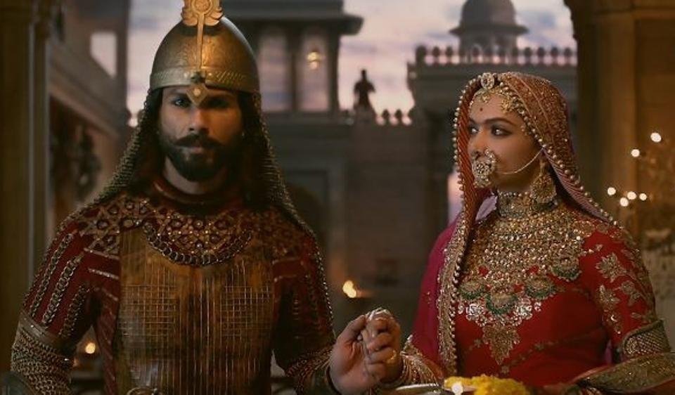 Shahid Kapoor and Deepika Padukone padmavat