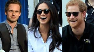 Meghan Markle's Suits co-star Patrick J Adams Tweets Funny Reaction and a Special Message to Prince Harry