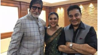 Kajol Shares A Picture With Amitabh Bachchan And Kamal Haasan, Gets Trolled - View Post