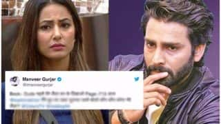 Bigg Boss 11: After Karan Patel, Season 10 Winner Manveer Gurjar Trolls Hina Khan