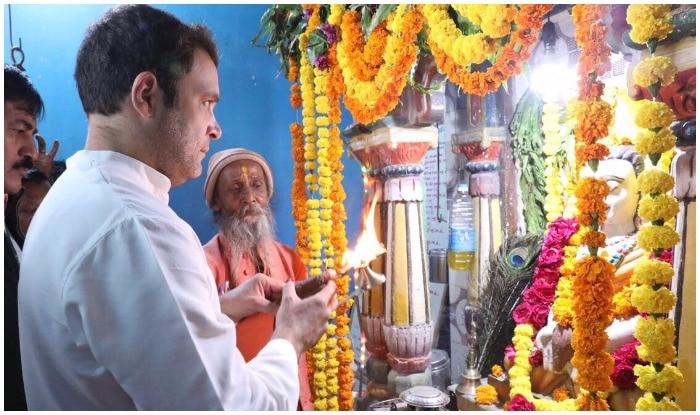 राहुल गांधी के मंदिर जाने की खबर 2014 से पहले इतनी नहीं आती थी. 2014 के बाद से राहुल के मंदिर जाने के सिलसिले बढ़ गए हैं...