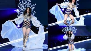 Chinese Model Ming Xi Takes a Fall on Victoria's Secret Fashion Show, But Her Recovery Left Everyone Applauding