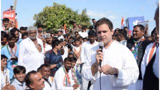 अमेठी: कांग्रेस अध्यक्ष राहुल गांधी को सड़क का उद्घाटन करने से रोका, बीजेपी के विरोध पर प्रशासन ने नहीं दी इजाजत