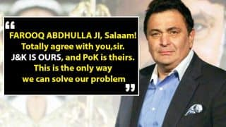 Rishi Kapoor Trolled on Social Media For Saying 'J&K is Ours And PoK is Theirs'