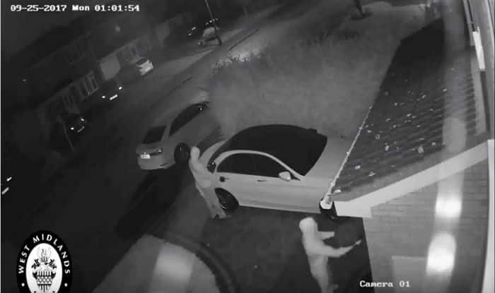 Mercedes auto stolen without using a key in seconds in 'relay theft'