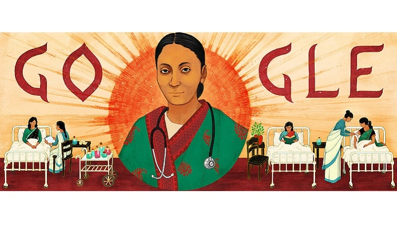 Rukhmabai Rauts 153rd Birthday Celebrated with a Google Doodle