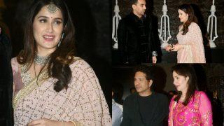 Sagarika Ghatge -Zaheer Khan Throw A Wedding Party, Sachin Tendulkar, Harbhajan Singh And Others Grace It- View Inside Pics