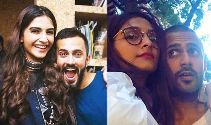 Sonam Kapoor And Anand Ahuja Engagement