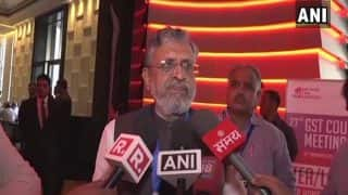 Sushil Modi Blames Good And Faster Roads For Rise in Accidents in Bihar
