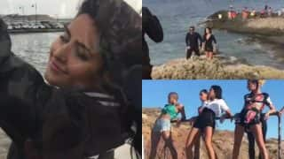 Tiger Zinda Hai Song Swag Se Swagat Making: Katrina Kaif's Hot Moves Do Not Care About The Strong Wind On The Sets!