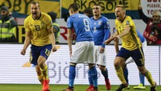 FIFA 2018 World Cup Qualifiers: Italy Miss Out On Tournament as Sweden Qualify